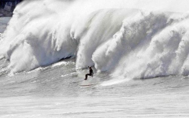 Epic Surfer Wave