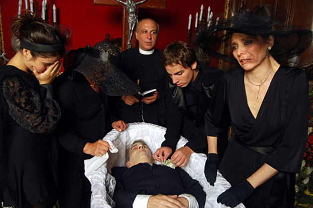 Your Funeral Won't Be So Depressing If You Hire People to Attend It
