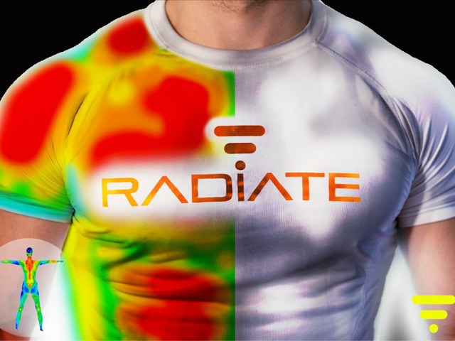 Want To See Which Muscles You're Working At The Gym? Radiate Shirt Will Light The Way.