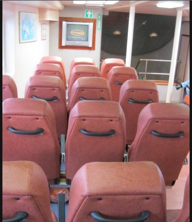They are just happy seats
