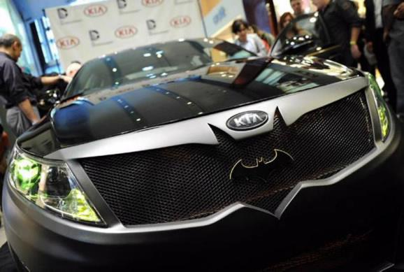 Super Hero Cars by Kia and DC Entertainment