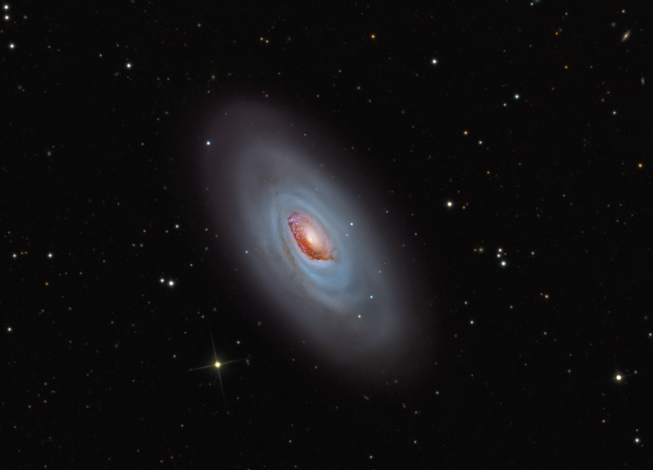 M64: The Black Eye Galaxy