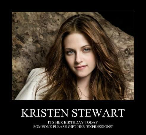It's Kristen Stewart's Birthday! Lets Help Her Turn That Frown Upside Down with These Memes