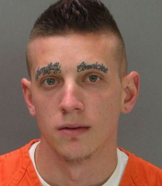 Tattoos instead of eyebrows