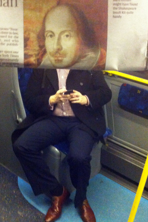 Fantastic Photobombs with Heads of Commuters Replaced by Newspaper Photos