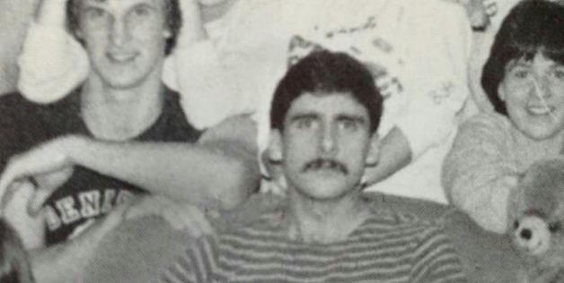 Steve Carrell's 1984, great mustache