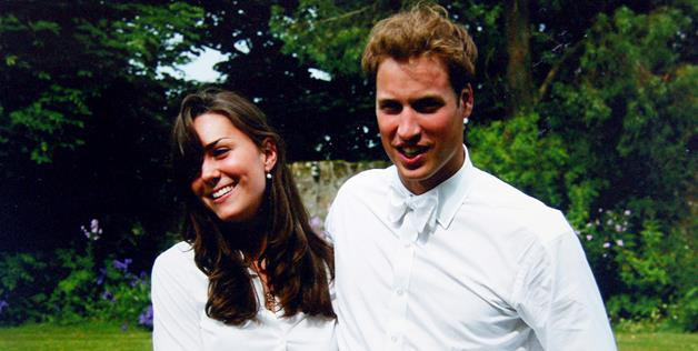 William and Kate following their graduation from Scotland's St. Andrews University in 2005.