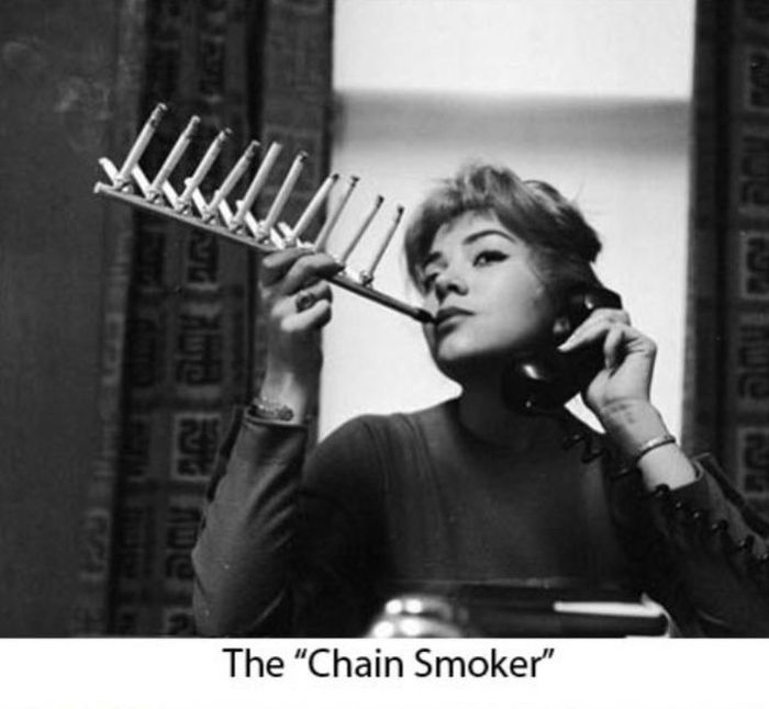 The chain smoker