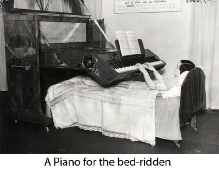 A piano for the bed-ridden