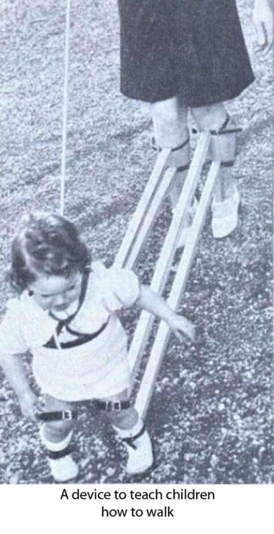 A device to teach children how to walk