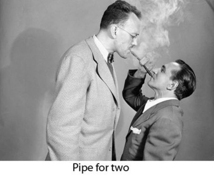 Pipe for two
