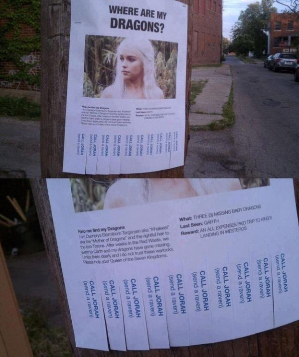 "Hilarious ""Game of Thrones"" joke"