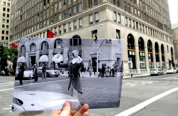 Famous Film Scenes Revisited In Present Day Locations