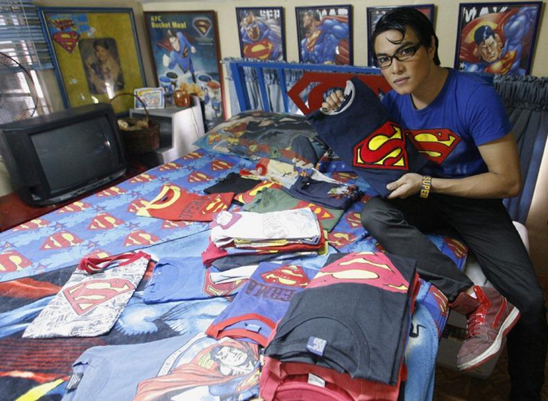 He Makes Custom Designed Super Man Attire