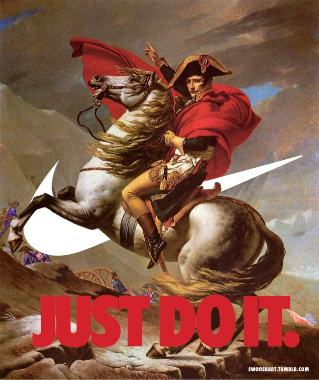 The Nike Swoosh Fine Art Meme Gives New Meaning To 'Just Do It'