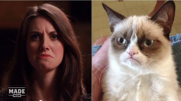 See Alison Brie As All Your Favorite Memes