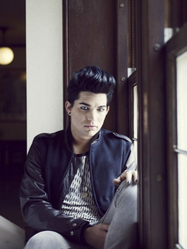 Adam Lambert on Out Magazine