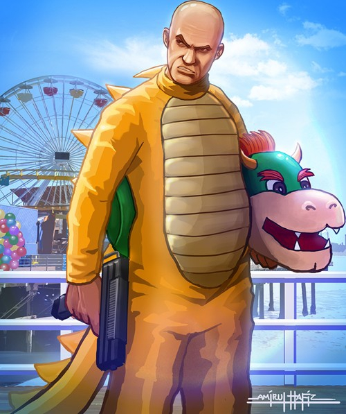 Grand Theft Mario Looks Just As Cool As You Want It To