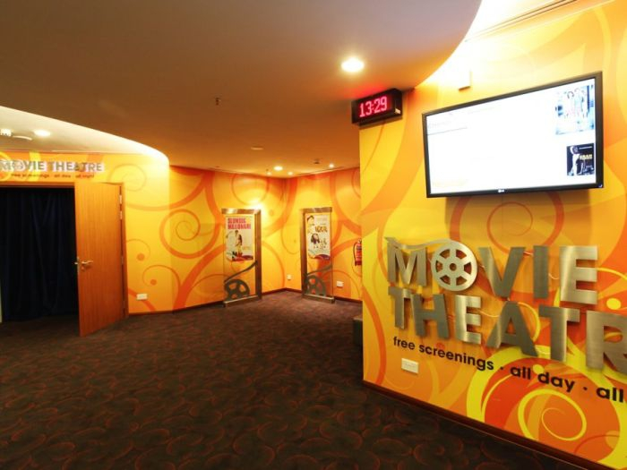 Movie theatre at Changi Airport