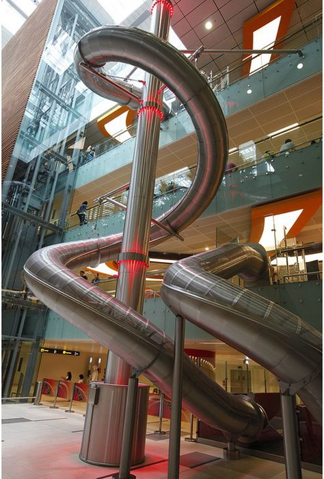 Slide for adults