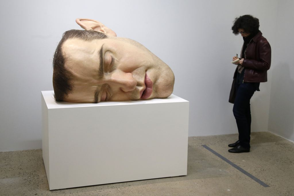 "a sculpture entitled ""Mask II"""