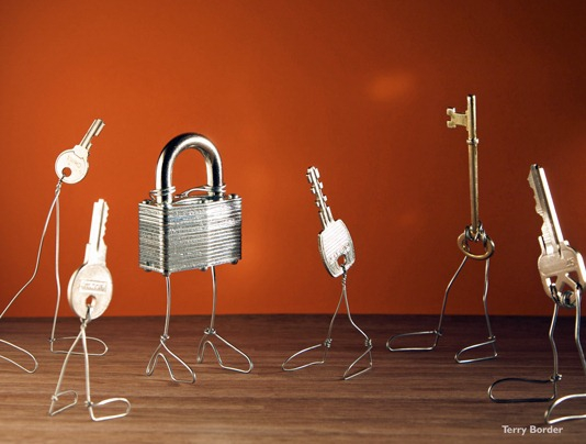 Bent Objects: cool art by Terry Border