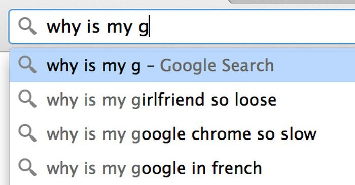 Google search: why is my g