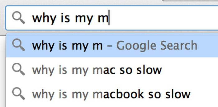 Google search: why is my m
