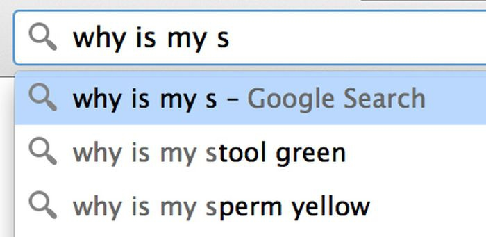 Google search: why is my s