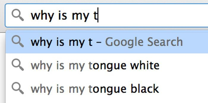Google search: why is my t