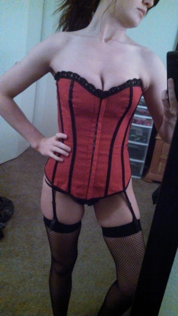 Sexy Red Corset