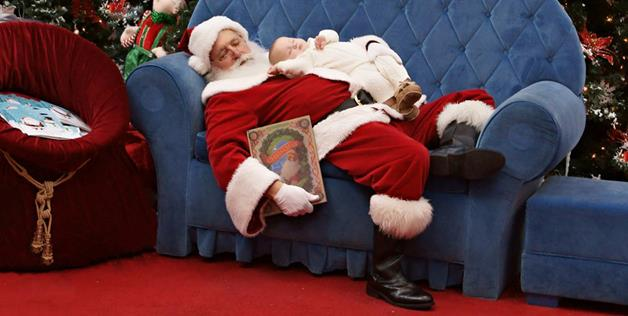All I want for Christmas is... a good nap with Santa