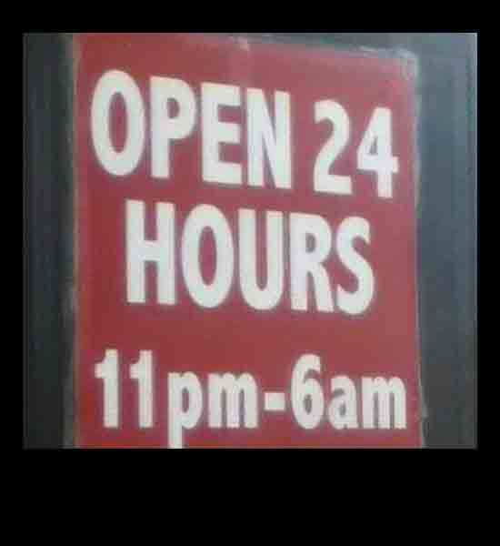 Store Hours Fail