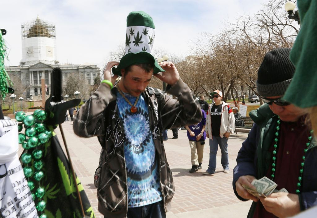 People Purchase Marijuana merchandise