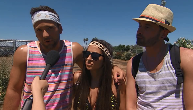 Jimmy Kimmel Tricked People At Coachella