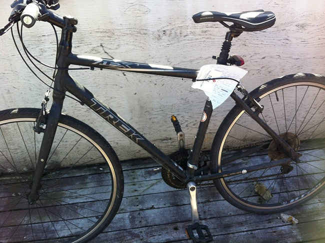 Best Bike Thief Ever Returns Bike With Hilarious Note