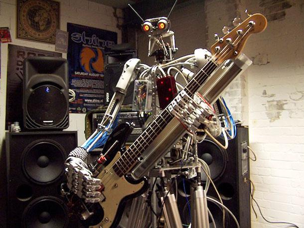 Compressorhead, The World's First Robot-Only Band