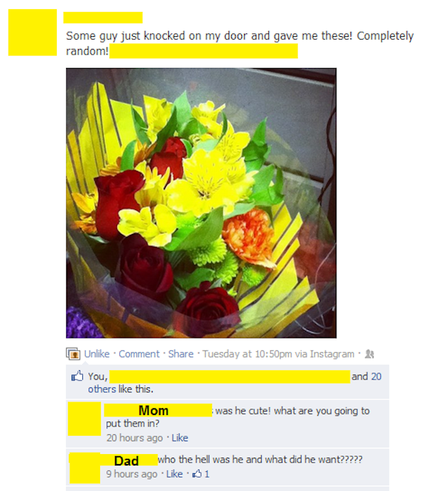 12 Parents Embarrassing Their Kids on Facebook