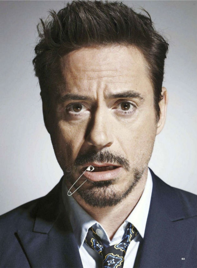 Robert Downey Jr. Makes 'Iron Man' Suave and Sexy