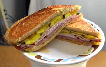 """Cuban Sandwich"": Raymond James Stadium (Tampa Bay Buccaneers)"