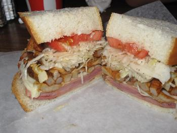 """Capicola & Cheese Sandwich"": Heinz Field (Pittsburgh Steelers)"
