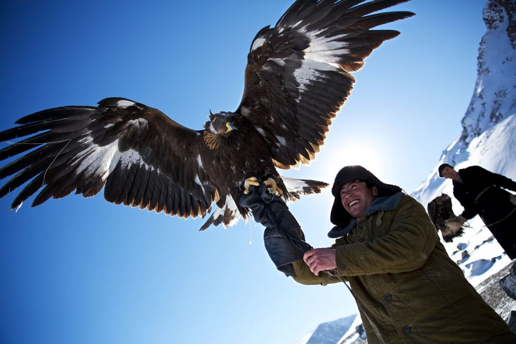 Eagle Hunting is a Kazakh tradition