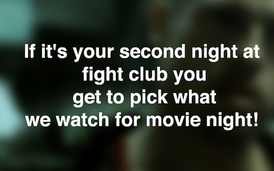 20 Other Rules of Fight Club