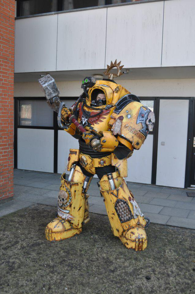 Imperial Fists Termintor Captain costume