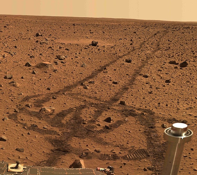 Rover Draws A Suspiciously Penis Looking Doodle On Mars. You Go NASA!