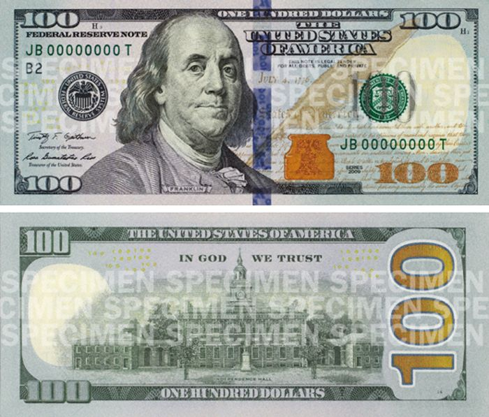 $100 bills changes over the years [pics]