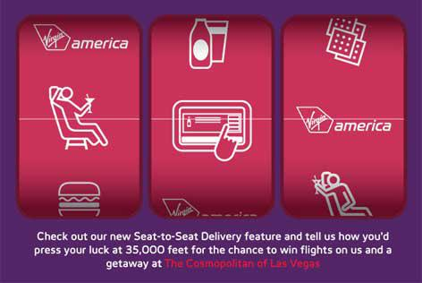New 'Seat to Seat Delivery' to Help You 'Get Lucky'