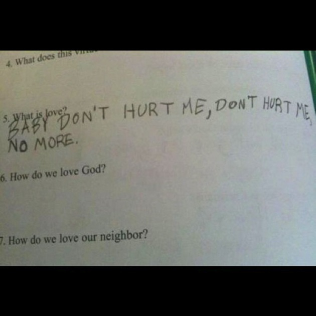 10 Hilarious Test Answers That Prove Kids Are Awesome