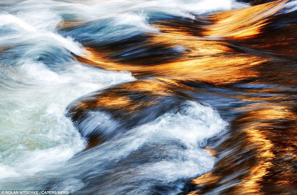 Stunning River Waves