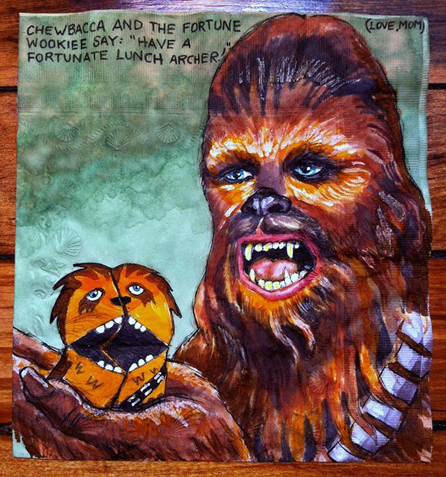 """Chewbacca and the Fortune Wookiee"""